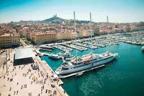 Hotel Marseille - One, Two or Three nights Stay With Daily breakfast, Free Wi Fi available and Tickets for city tour on board a tourist train - Save 37%