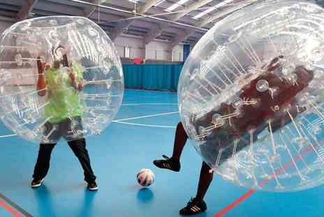 Excel Bubble Football - 90 minute zorb football experience for up to 20 people - Save 29%