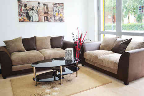 Furniture Instore - Dylan sofa choose from three colour combinations  - Save 48%