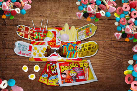Mr Big Tops - Two boxes of retro sweets Plus DELIVERY INCLUDED - Save 64%
