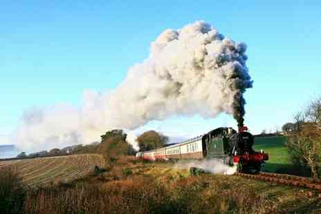 Bodmin & Wenford Railway - Bodmin & Wenford Railway Train Pass For Two or Family - Save 50%