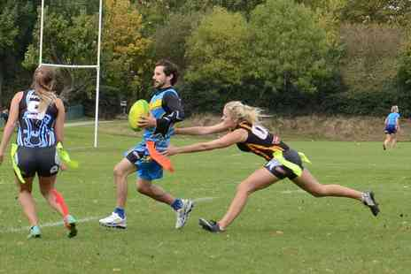 Try Tag Rugby - Entry to a Try Tag Rugby League with a Free Taster Session and Complimentary Shorts For One  - Save 66%