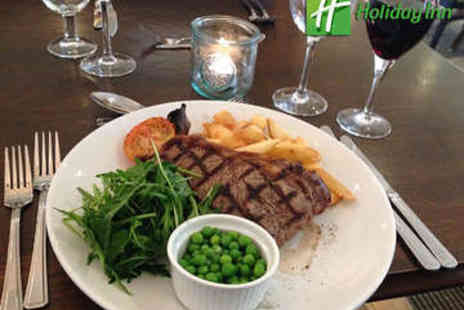 Holiday Inn York - Steak with a Bottle of Wine for Two - Save 52%