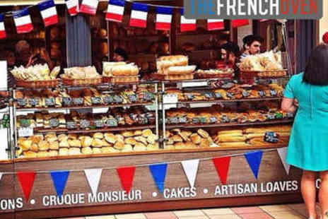 The French Oven - Sandwich, Pastry, and Drink Each for Two  - Save 57%
