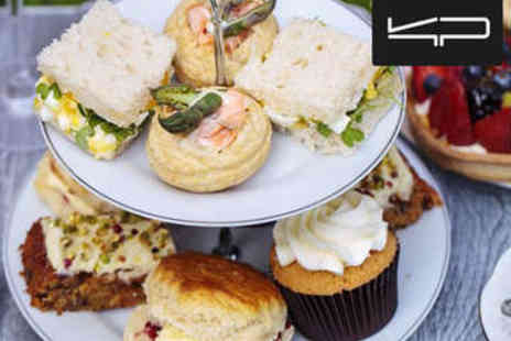 The Glasshouse - Afternoon Tea with Nordic Spa Access for Two - Save 60%