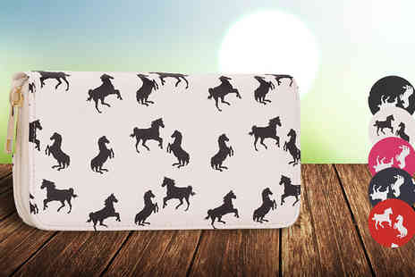 Trendy Look - Horse Print Purse  Available in five Colours - Save 64%