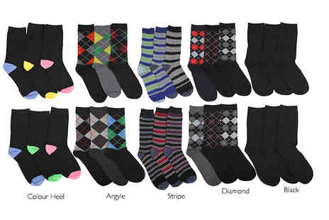 Stitch Trading - 12 pack of mens socks - Save 50%