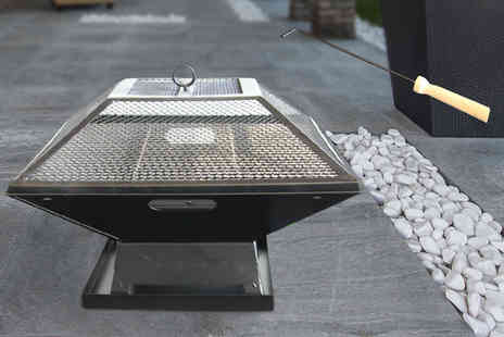 UK Home and Garden Store - Outdoor garden fire pit and BBQ grill - Save 76%