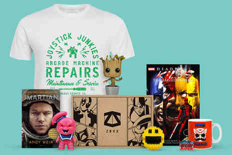 The Hut Group - First months ZBOX, your monthly geek box packed with £35 worth of exclusive licensed merchandise - Save 50%