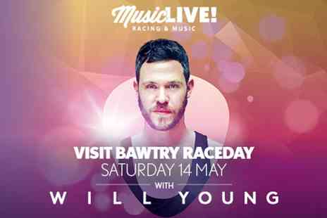 VMS Live - Race Day and Will Young Live Ticket on 14 May - Save 0%