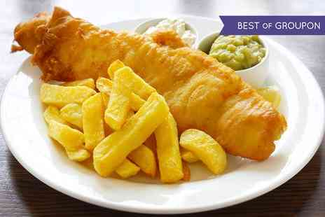 The Almighty Cod - Fish and Chips with Drink For Two or Four - Save 34%