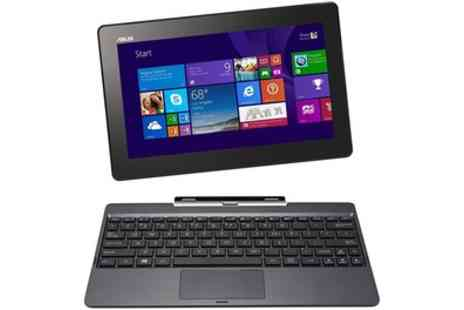 Laptopoutlet - Refurbished ASUS Transformer Book, Antivirus, Headphones With Free Delivery - Save 0%