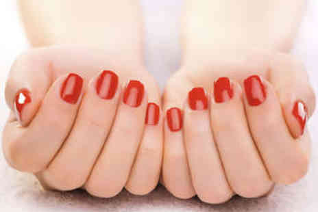 Shaista's Beauty Salon - Shellac Manicure or Pedicure - Save 0%
