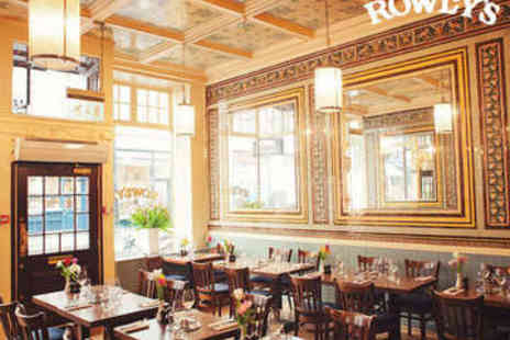 Rowleys Restaurant - Cote de Boeuf and Unlimited Fries for Two - Save 43%