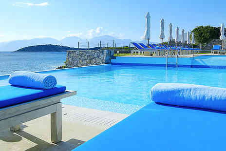 St Nicolas Bay Resort Hotel - Five star luxury and designer elegance on the spectacular Cretan coast - Save 51%