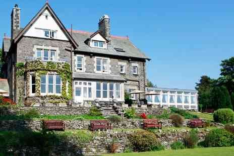 Sawrey House Hotel - Afternoon Tea for Two with Esthwaite Views  - Save 44%