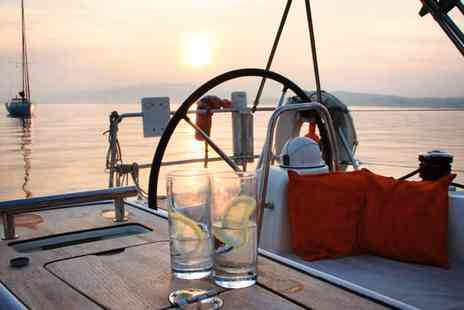 Escape Yachting -  Solent Summer Yacht Trip with Lunch or Dinner & Bubbly - Save 55%