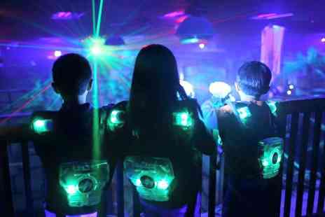 The Zone - Two games of laser tag for two including lunch and a soft drink each  - Save 56%