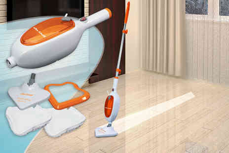 Yabe Trading Co - Three  in one steam mop - Save 84%