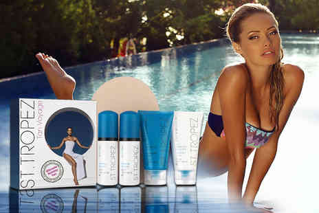 My Perfume Room - St Tropez Tan Voyage ultimate holiday bronzing set - Save 65%