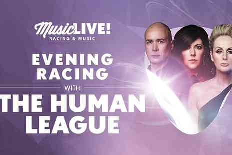 Uttoxeter Racecourse - Race Day and Human League Live Adult or Child Ticket on 14 May  - Save 0%