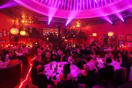 Proud Cabaret Brighton - Cabaret and Burlesque Show with a Three Course Dinner and Glass of Prosecco for One  - Save 54%