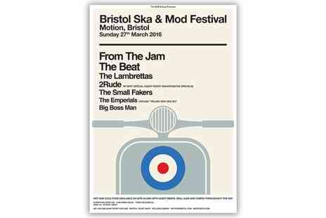 Alchemy Promotions - Bristol Ska & Mod Festival One Ticket on 27 March - Save 0%