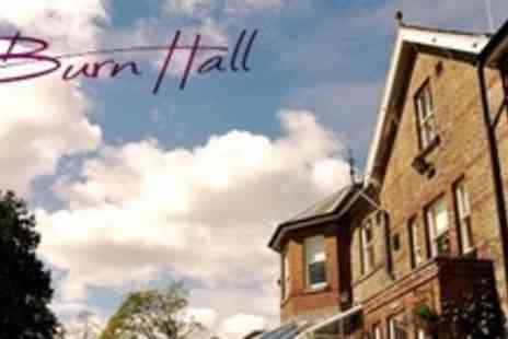Burn Hall Hotel - One Night Stay For Two With Breakfast at North Yorkshire - Save 59%