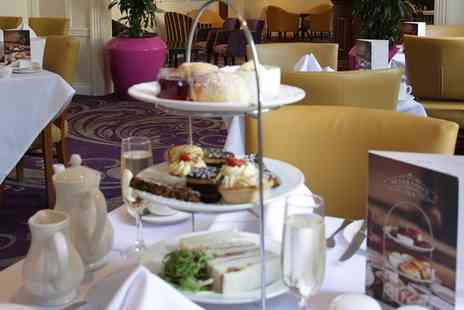 The Angel Hotel - Afternoon Tea with Optional Prosecco for Two or Four  - Save 28%
