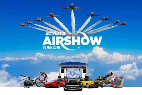 Skylive Airshow - SkyLive Airshow Tickets on 28 May - Save 0%