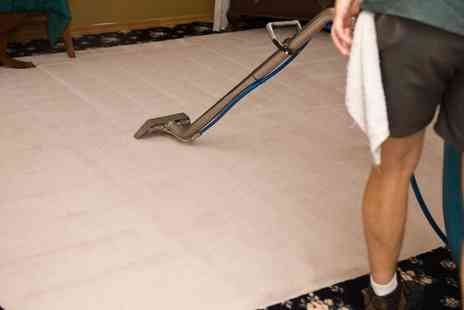RCS Cleaning - Deep Carpet Clean for Up to Six Rooms with Optional Staircase and Hallway - Save 30%