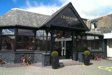 Craighaar Hotel - One Night Stay For Two With Breakfast, Prosecco  - Save 0%