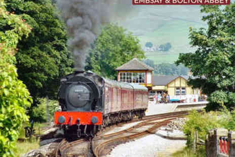 Embsay and Bolton Abbey Steam Railway - Steam Railway Ride - Save 55%