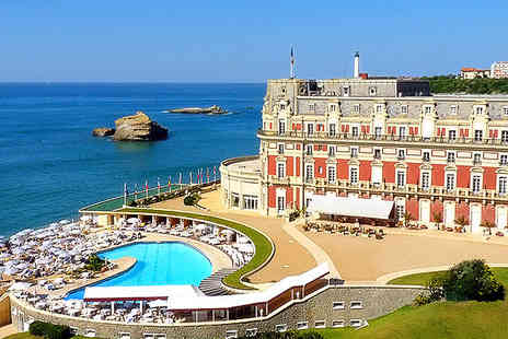 Hotel du Palais - Star in your very own historical epic in the elegant Biarritz  - Save 50%