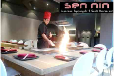 Sen Nin - Japanese Teppanyaki Meal For Two, Cooked In Front of You, Including a Cocktail Each - Save 59%