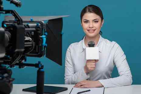 The TV Training Academy - One day Be a TV Presenter training course  - Save 87%