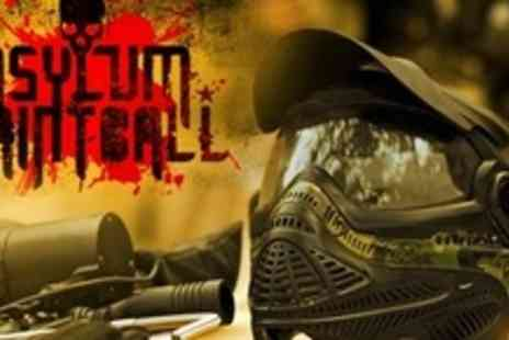Asylum Paintball - Paintball Experience For Two With 100 Paintballs Each - Save 91%