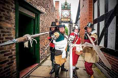 Chester Civil War Tours - Great Siege of Chester Walking Tour  - Save 46%