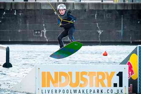 Liverpool Wake Boarding Park - Beginners Wakeboarding Lesson For One - Save 53%