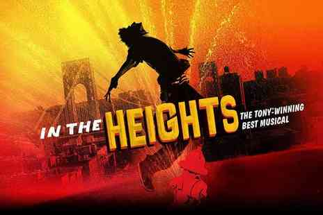 ATG Tickets - In The Heights Musical - Save 33%
