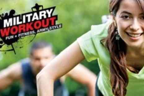 Military Workout - Ten Fitness Sessions - Save 73%