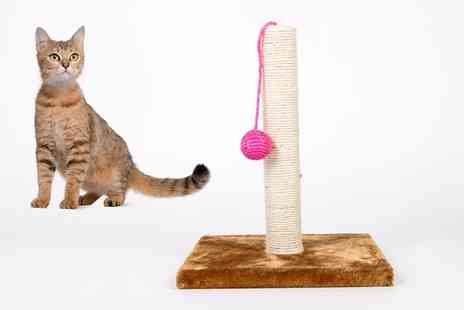 Groupon Goods Global GmbH - Cat Scratching Pole 30cm x 30cm x 35cm - Save 0%
