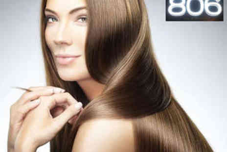 806 Hair and Beauty - Haircut, Blow Dry, and Conditioning Treatment - Save 64%