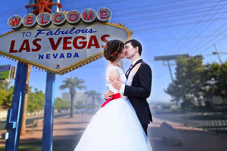 Independent World Choice Holidays - Seven nights Las Vegas wedding trip including return flights, accommodation and a choice of four wedding packages - Save 42%