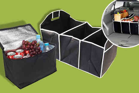 lolbargain limited - Two Car Boot Organisers with One Cooling Bag - Save 74%