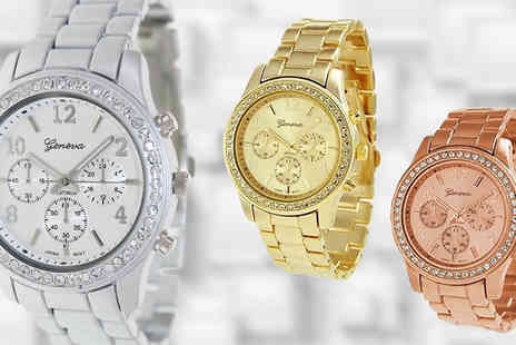 Bentleys Bargain Warehouse - Classic Ladies Boyfriend Watch  Available in Three Colours - Save 31%