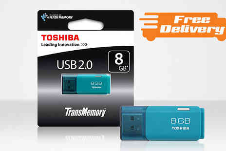 Moby Memory - Toshiba 8GB USB Flash Drive with Free Delivery - Save 0%