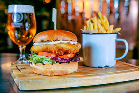 Brewhouse & Kitchen - Beer Masterclass with Tastings and Gourmet Burger Meal for Two - Save 0%