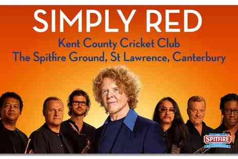 Simply Red Big Love World Tour - Simply Red Live on 18 June - Save 0%