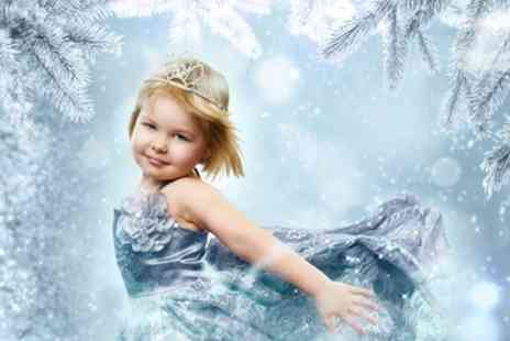 4Ever Photos - Kids Winter Themed Fantasy Photoshoot with Print - Save 78%